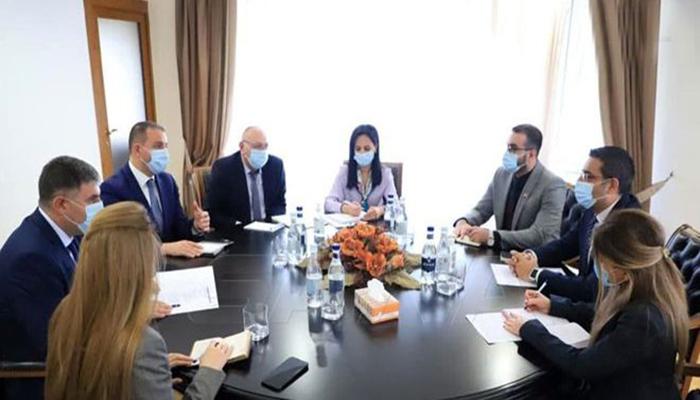 مباحثات سورية أرمينية لتطوير وتعزيز العلاقات بين البلدين